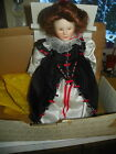 Queen Elizabeth I --Franklin Mint Heirloom Doll Mint In Box  1982  last one