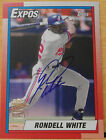 2014 Topps Archives Rondell White Fan Favorite Autograph Montreal Expos Auto