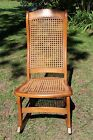 Vintage Country Sewing Rocker, caned seat