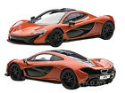 MCLAREN P1 METALLIC ORANGE 1 43 DIECAST CAR MODEL BY AUTOART 56012
