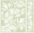 Cuttlebug Embossing Folder  Border MAYFAIR FLORAL A2 by Anna Griffin