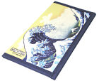 Japanese Rice Paper Wallet Checkbook Cover Hokusai Wave Mountain Made in Japan