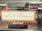 Pete Reiser RARE Auto Brooklyn Dodgers' NATURAL - 2011 Donruss Limited Cuts 2 5