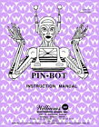 Pinbot Pinball Game Operations/Service/Repair Manual/Pin Bot Arcade Williams