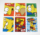 2000 Inkworks The Simpsons 10th Anniversary Promo Card Set (6) Nm Mt