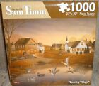 #8550-2 Karmin International The art of Sam Timm Country Village 1000 Piece