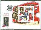 SAO TOME 2015  175th  ANNIVERSARY OF   THE PENNY BLACK LONDON STAMP EXPO SHT FDC