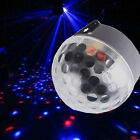 Disco DJ Party LED Ball Stage Light Lighting Magic Bar Club Crystal Effect US