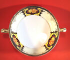 Art Nouveu Handled Dish, 3 Footed, Hand Painted With Gilding, Noritake Japan