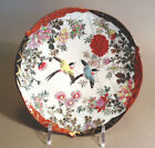 Hand Painted Fan Shaped Imari  Dish With Two Swallows, Japan (Signed)