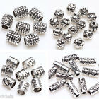 50 100 Pcs Tibet Silver Plated Loose Spacer Beads Charms Jewelry Making DIY New