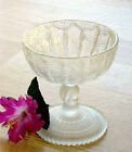 EAPG antique glass TREE OF LIFE & HAND jelly compote Hobbs Brockunier & Co. 1879