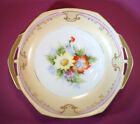 Noritake - Vintage Handled Dish, Hand Painted With Gold Moriage,  Japan