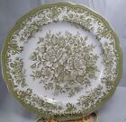Vintage Ironstone China Avondale Meakin England Royal Staffordshire Green Floral