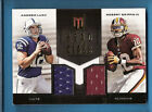 ANDREW LUCK ROBERT GRIFFIN III RG3 ROOKIE JERSEY CARD #d 102 149 Colts REDSKINS