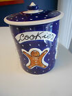 STARBUCKS HOLIDAY COOKIE JAR-ITALY-VG++ CONDITION  7 1/2