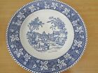 Stratwood Collection Shakespeare Country Blue Plate Homer Laughlin Ohio