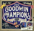 2012 Upper Deck Goodwin Champions Baseball Factory Sealed Hobby Box