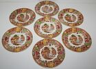 Vintage Set 7 ENOCH Wood & Sons PLATES ENGLISH SCENERY Bread & Butter 6