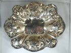 Antique Barbour Silver Co. Quadruple Plate Art Nouveau Oval Serving Bowl 11.5