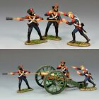 King & Country NA197 Napoleonic French Alternate Gun Crew - RETIRED -Mint in Box