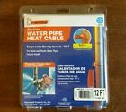 NIOP 12' Electric Heat Freeze Protection Cable metal/plastic water pipes 120V