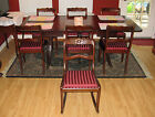TELL CITY Chair Co Duncan-Phyfe Mahagony Dining Dinette Set with Rocking Chair
