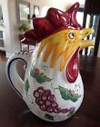 DERUTA ITALY CERAMIC ITALIAN ART POTTERY ROOSTER 10