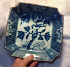 Asian Antique Blue and White Chinese Japanese?Porcelain Bowl with Flowers
