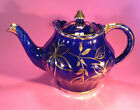 Arthur Wood Cobalt Blue & Gold Tea Pot - Gorgeous!