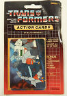 1985 Hasbro Transformers Action Cards Unopened Series 1 Trading Card Pack