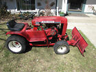 Vintage 1971 Wheel Horse 800 Special With Deck and Plow Very Good Condition