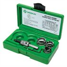 NEW GREENLEE 655 Hole Cutter Kit 6 Pieces Tungsten Carbide FREE SHIPPING
