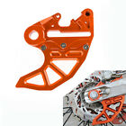 FOR KTM 125-530 SX EXC CNC BRAKE CALIPER SUPPORT MOUNT WITH BRAKING DISC GUARD