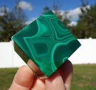 Huge SOLID Green MALACHITE Crystal CUBE Sacred Geometry Stone Copper