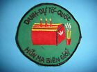 VIETNAM WAR PATCH,  ARVN SPECIAL FORCES TECHNICAL DIRECTORATE HONOR NATION