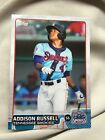 2015 PRO DEBUT ADDISON RUSSELL SSP PHOTO VARIATION CUBS 1 Rare