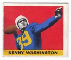 1948 Leaf #17 Kenny Washington (Black Name Version) Los Angeles Rams Halfback