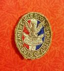 Vintage 1954 Boy Scout Eagle award Patch w/certification card