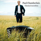 Paul Chamberlain Classical Accordion New CD Jewel Case Packaging