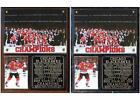Chicago Blackhawks 2015 Stanley Cup Champions Photo Plaque 6-Time Cup Champions