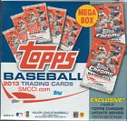 2013 Topps Baseball Factory Sealed 16 Box MEGA CASE with EXCLUSIVE CHROME UPDATE