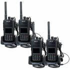 4PCS TYT MD-380 Walkie Talkie UHF  5W 1000CH Digital Mobile (DMR) Two way Radio