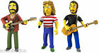 The Simpsons 25 Greatest Guest Stars Series 2 The Who Complete Set of 3 NIP