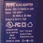 MOSO XKD-C1720IC5.5-12W Switching AC Power Supply Adapter Charger 5.5V DC 1.72A