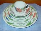 Villery & Boch Amapola Pattern 5-Piece Place Setting Very Good Condition