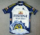 FESTINA WATCHES VINTAGE CYCLING JERSEY BY SIBILLE MENS MEDIUM PEUGEOT