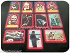 Star Wars - Series 2 (RED) - Trading Card Sticker Set (11) - 1977 Topps - NM