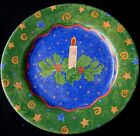 SANGO POTPOURRI JOLLY LIGHTS SALAD PLATE(S) CHRISTMAS