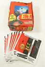 1982 Topps E.T. The Extra-Terrestrial Empty Display Box Filled with Wax Wrappers